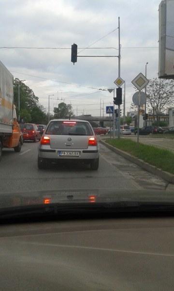 Катастрофа в центъра на Пловдив затрудни движението