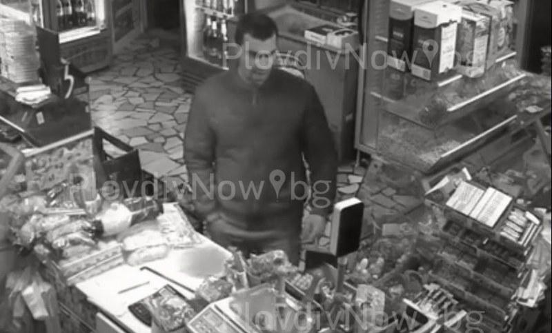 Пловдивчанин задигна 40 лотарийни билета от магазин в Съединение! Познавате ли го? ВИДЕО