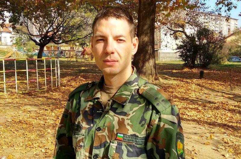 Да помогнем на Петко да продължава да служи на България! Младият офицер се бори с коварно заболяване