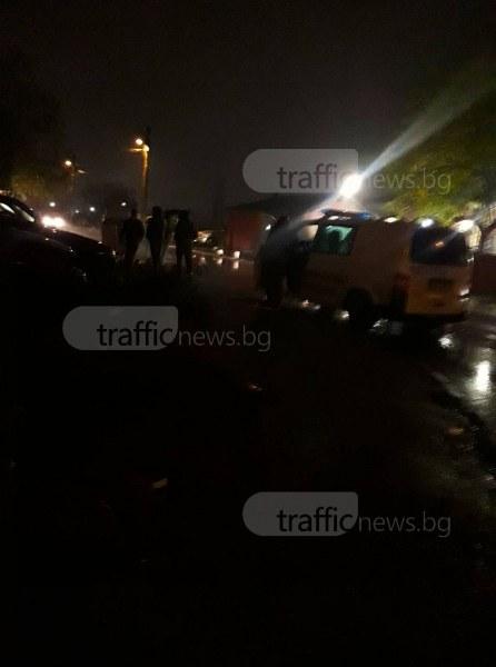 Полицаи тарашат за наркотици в Столипиново СНИМКА