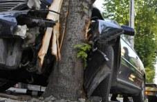 24-годишна се наниза в дърво с автомобила си край Калояново