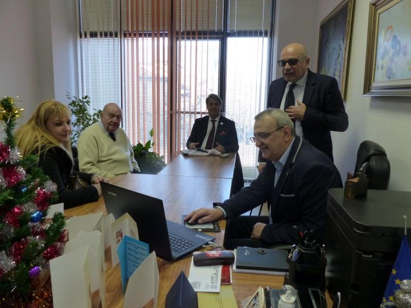 Делегация от италианския град Лука посети община Пловдив СНИМКИ