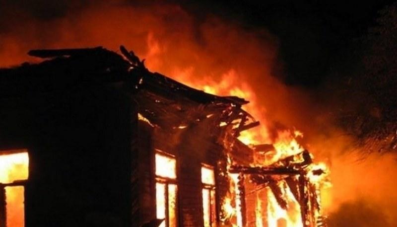 Пожар горя в къща в Драгомир, има загинал човек