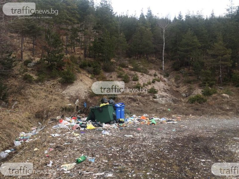 Срам! Пътят за светилището Белинташ - осеян в боклуци и мръсотия! СНИМКИ