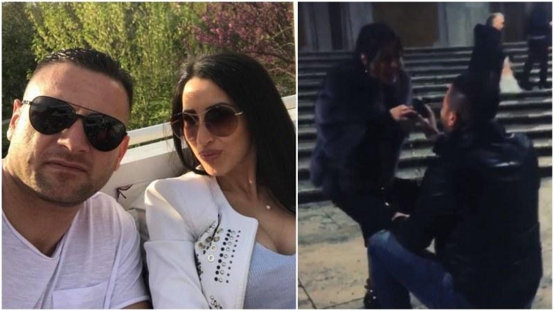 """Пловдивчанка каза """"Да"""" на любимия си на романтично място в Рим"""