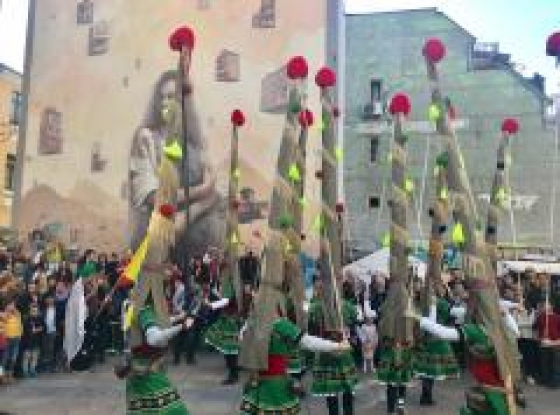 Европейската столица на културата благодари на кукерите на Раковски
