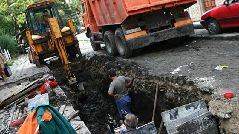 Централни пловдивски улици осъмнаха без вода