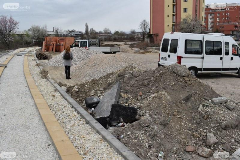 """Оформя се нов квартал край бул. """"Северен"""" в Пловдив, жилищни сгради никнат като гъби! ВИДЕО"""