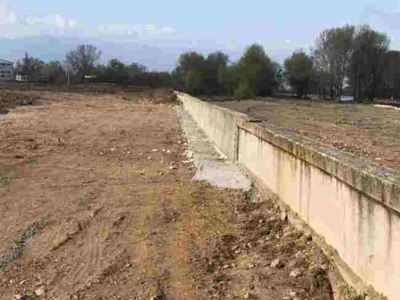 Възстановена е подпорната стена на река Чая СНИМКИ