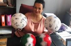 И футболистите на Левски подкрепиха благотворителния турнир в Сопот