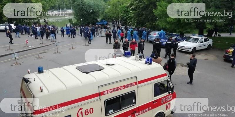 Бой между запалянковци даде старт на историческия финал! 18 души са в ареста