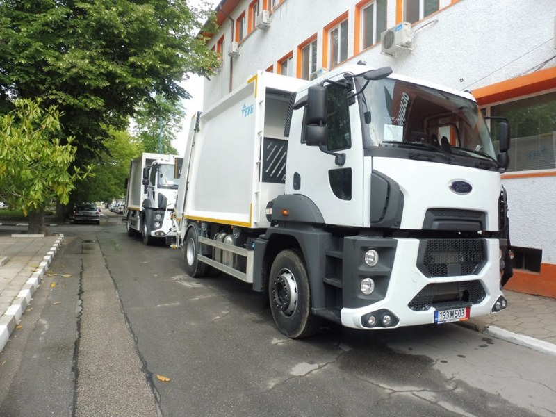 Нови камиони за смет се грижат за чистотата в Стамболийски