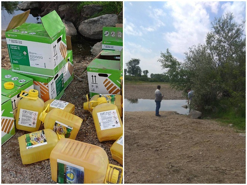 Откриха фермера, изхвърлил опасни отпадъци в коритото на Стряма