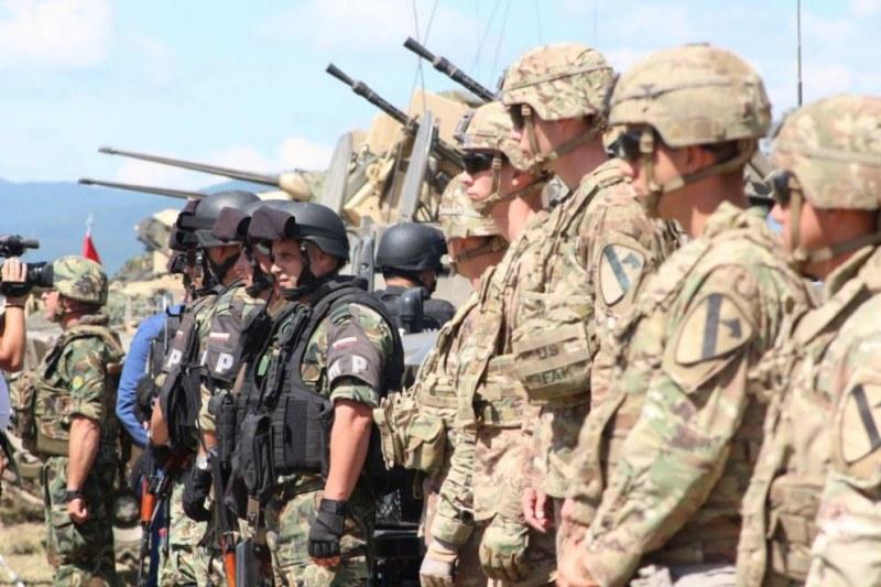 Български и гръцки военни неутрализират терористи край Чешнегирово