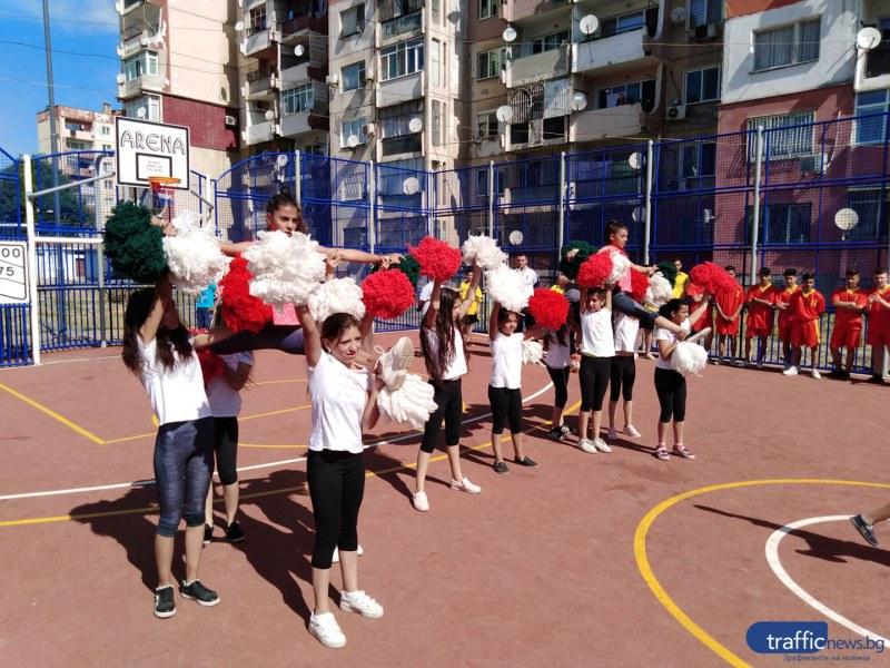 Столипиново вече има своето ново спортно бижу, жителите обещаха да го пазят