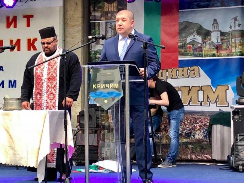 Партиен член саботира речта на Кмета на Кричим за 24 май