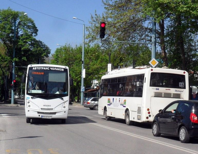 Три автобуса в Пловдив отново променят маршрути заради асфалтиране на ключов участък