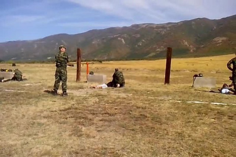 Учения и тренировки по стрелба в Анево през юни, бъдете внимателни!