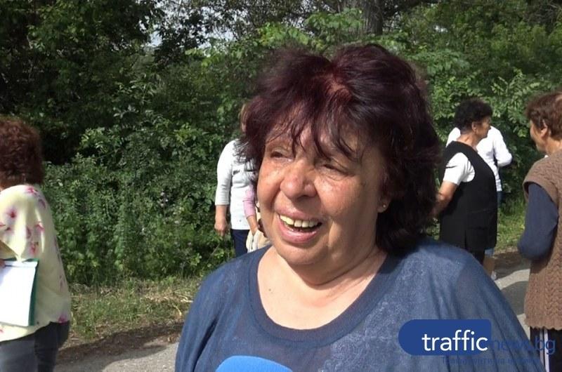 Жителка на Церетелево: Вчера съпругът ми почина, няма как да направя погребение