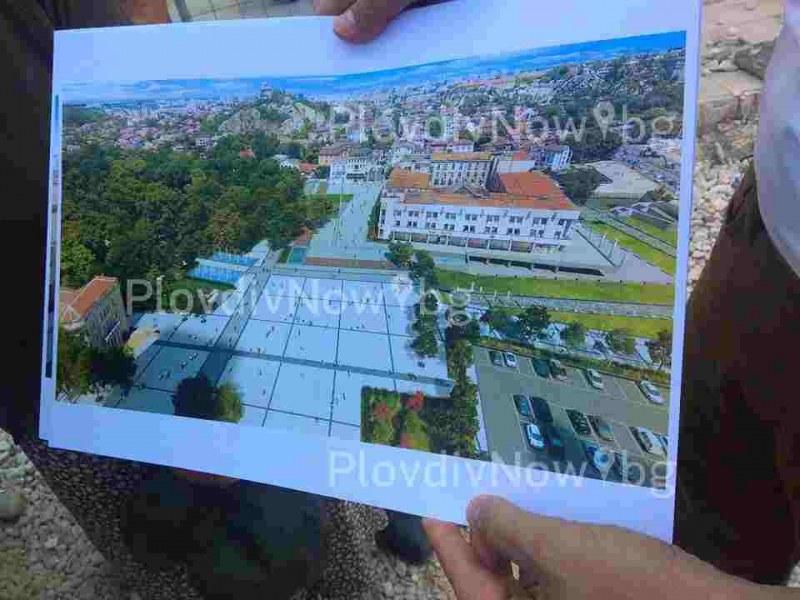 Централният площад на Пловдив съчетава история, култура и съвременни забавления