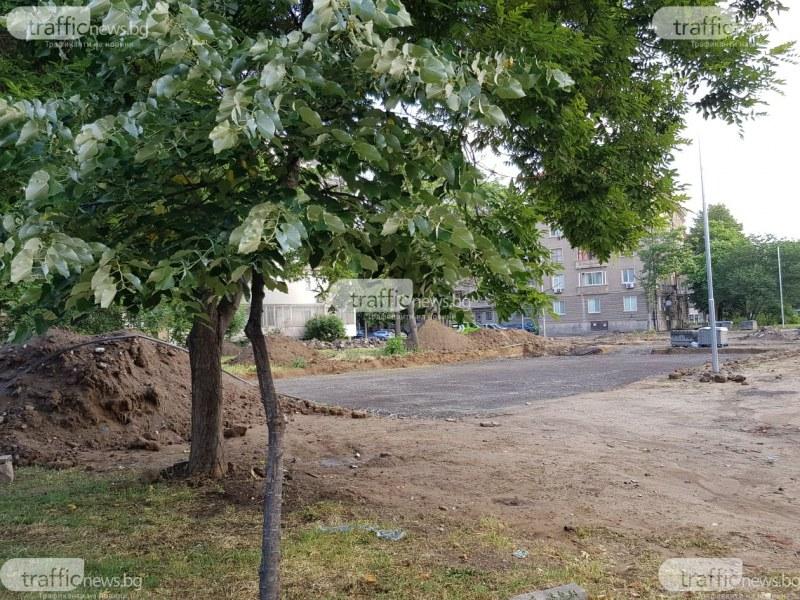 Пирамида, водно огледало и лабиринт: Превръщат в оазис пустеещ терен в центъра на Пловдив