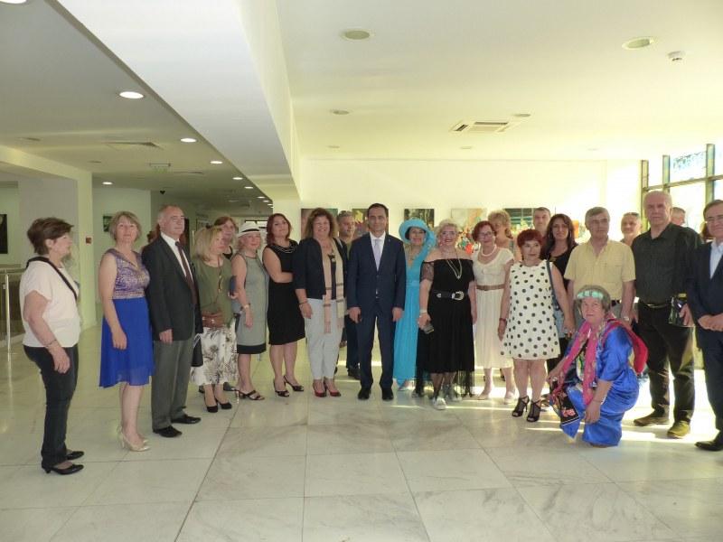 37 художници от Турция откриха в Пловдив изложба на приятелството
