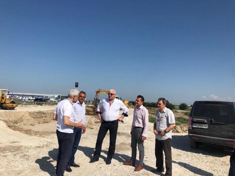 """Инспектираха два ключови инфраструктурни обекта в община """"Марица"""""""