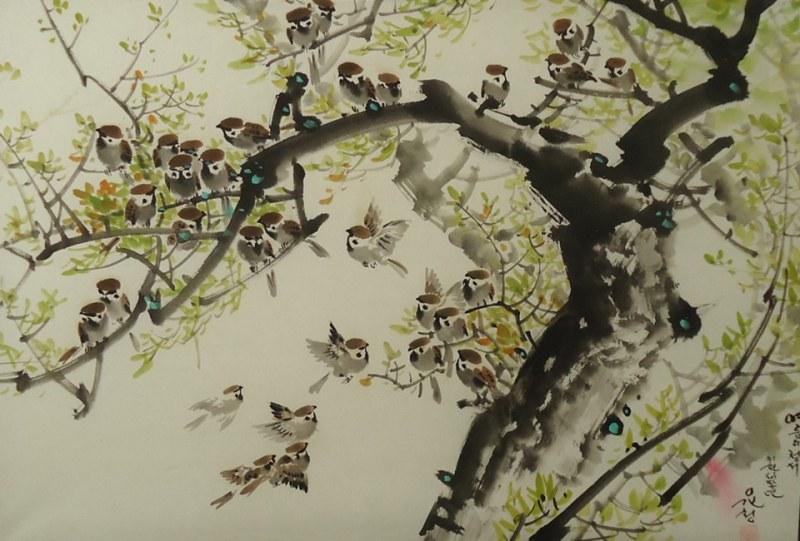 Корея идва в Перущица! Седефени картини и ръчни гоблени оставят ценителиите без дъх