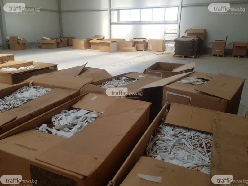 Спецпрокуратурата иска постоянен арест за задържаните от разбитата нелегална фабрика за цигари