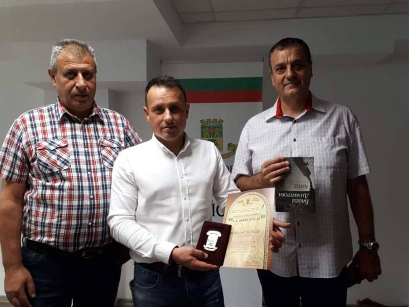 Началникът на Шесто РУ в Пловдив получи награда за висок професионализъм