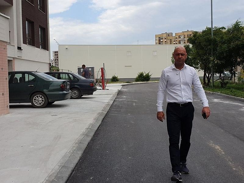 """Преасфалтираха улица в Тракия като част от кампанията """"Стъпка в повече"""""""