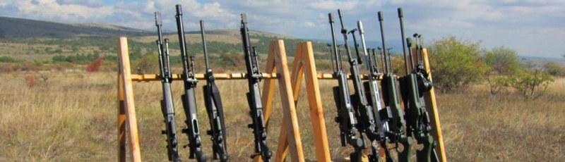 60 бойци стрелят с карабини и пистолети край Анево