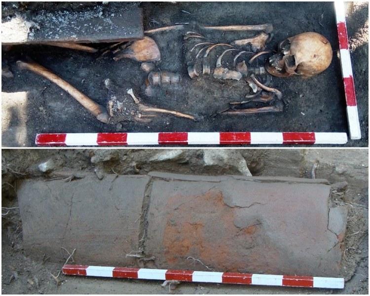 Откриха скелет на жена от III век в Пловдив