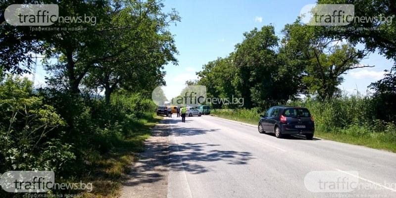 Тежка катастрофа край Марково и Първенец, микробус влезе в насрещното