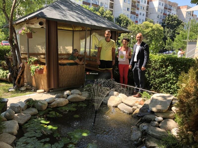 Двама създатели на прекрасни градинки в Тракия спечелииха награди
