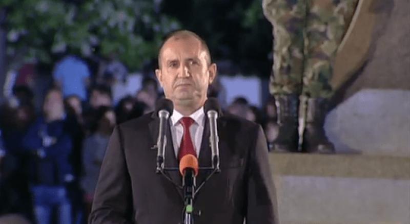 Президентът Румен Радев изправи на нокти управляващите с речта си в Карлово