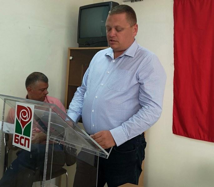 """БСП в """"Източен"""" номинира Николай Радев за кмет, издигна и кандидат за районен кмет"""