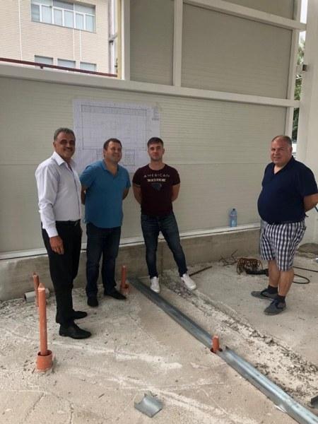 Строежът на спортната зала в село Труд тече усилено, ще има подобна и в Рогош