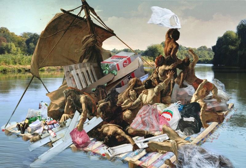 Сал от рециклирани материали ще плава по Марица тази неделя