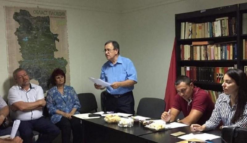 Ангел Иванов е кандидатът на БСП за кмет на район Южен в Пловдив