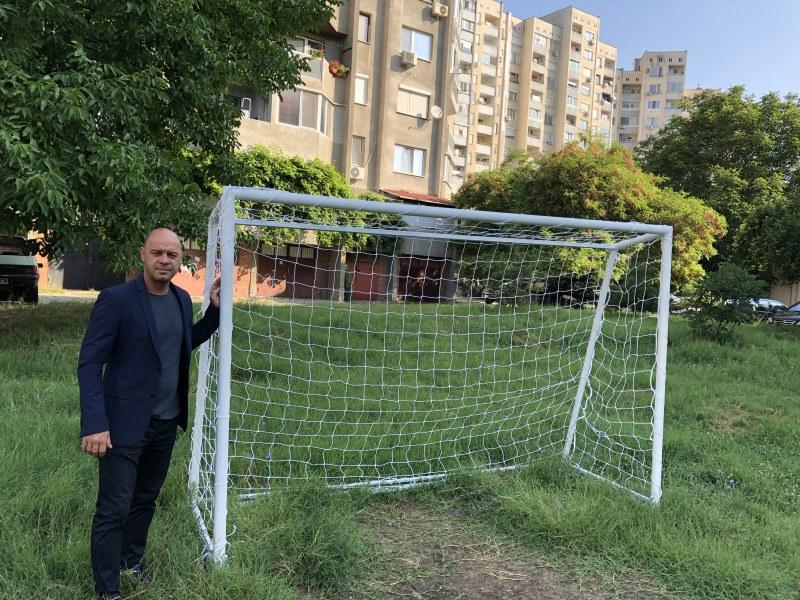 Ново футболно игрище радва любителите на спорта в Тракия