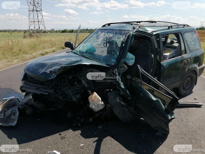 Пиян водач от ромски произход е предизвикал тежката катастрофа на пътя Пловдив-Карлово