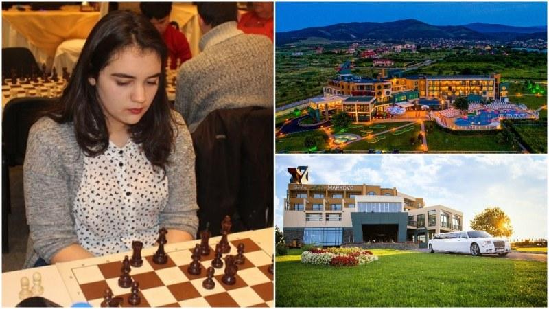 Шампионката Вики се изправя срещу любители шахматисти в приятелска игра край Пловдив