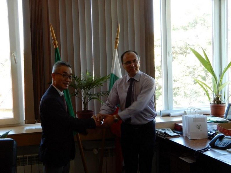 Карлово посрещна днес важен гост от Япония