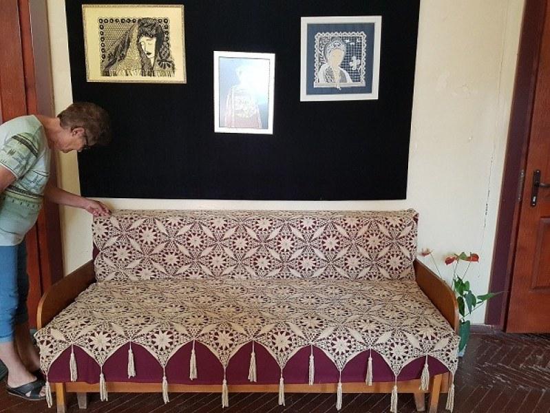 Майсторки на дантелата показаха шедьоври в Калофер навръх Голяма Богородица