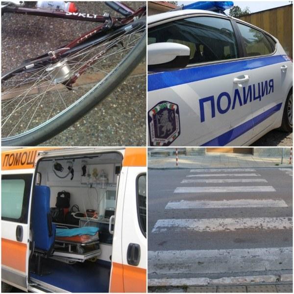 Шофьор удари 15-годишен колоездач на централно кръстовище в Пловдив и избяга