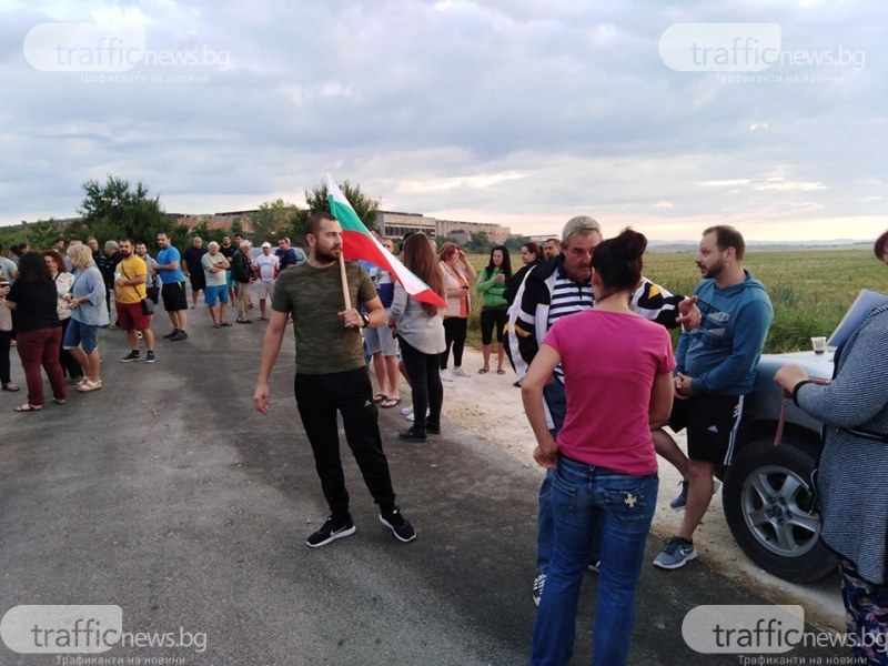 Министър Нено Димов ще посети завода край Шишманци и ще се срещне с протестиращите