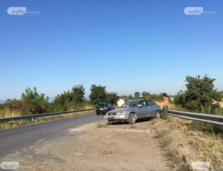 Джип и кола катастрофираха на пътя за Кадиево