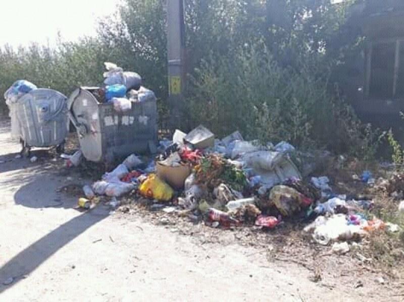 Село край Калояново потъна в боклук! Местни: Не са изпразвали контейнерите от седмици