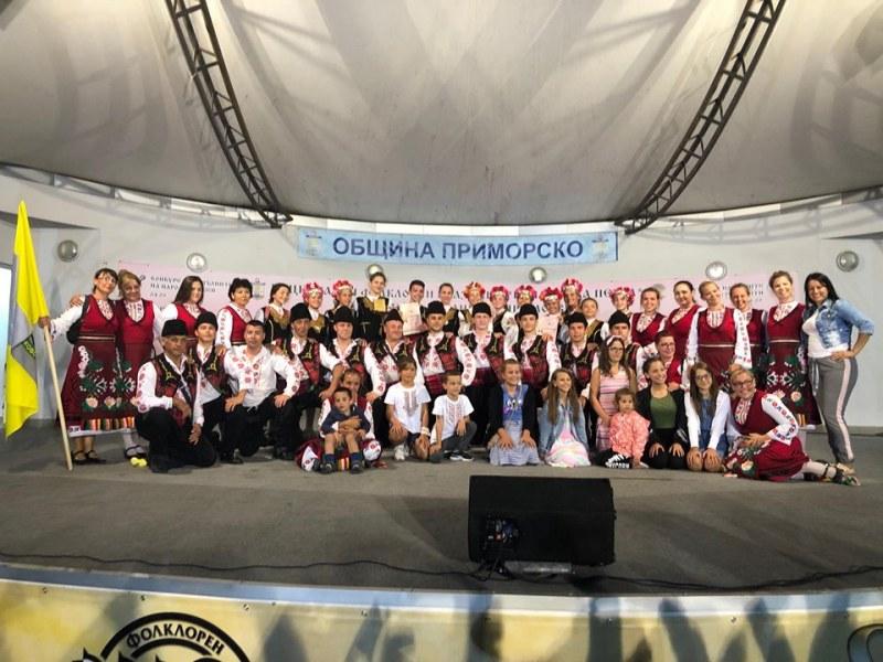 Фолклорният ансамбъл на Раковски обра медалите на морски фестивал